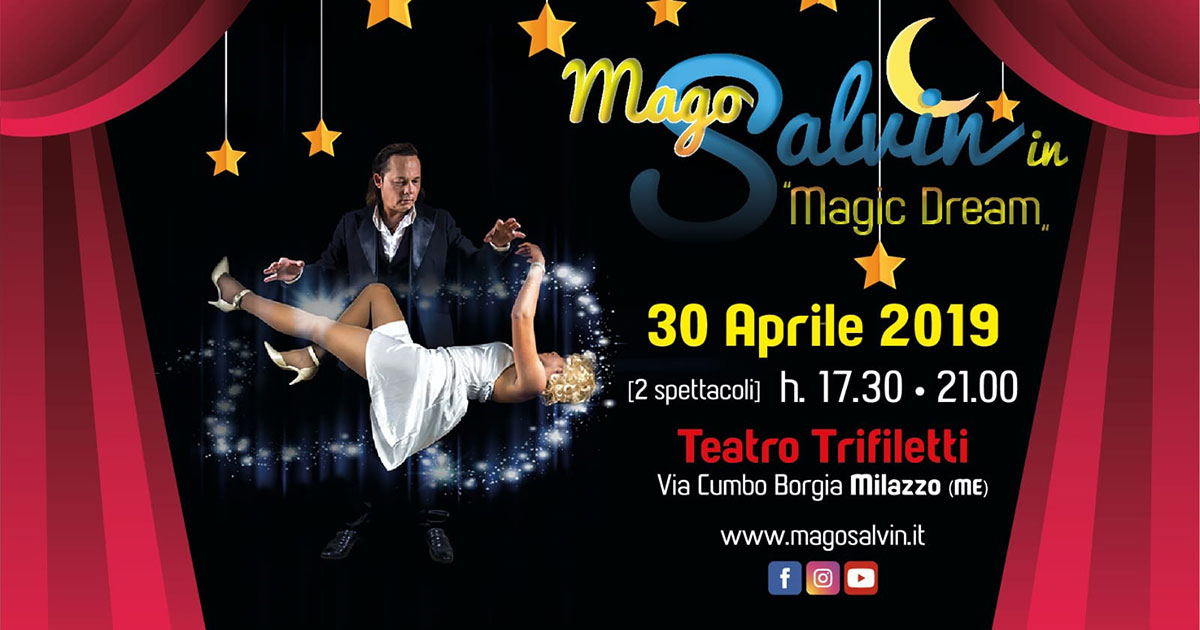 Mago Salvin in Magic Dream